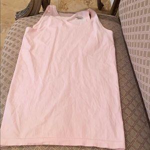ATHLETA WOMEN'S LIGHT PINK tank top